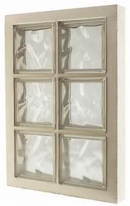 Brique De Verre Couleur : panneau pr fabriqu 6 briques de verre h 47 x l 67 x p 8 cm brico d p t ~ Melissatoandfro.com Idées de Décoration