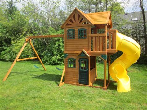 Spielplatz Für Den Garten schaukel mit rutsche spa 223 am spielplatz