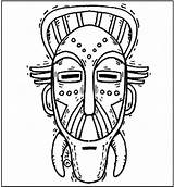 Coloring Mask African Masks Pages Gas Template Superhero Printable Templates Tribal Sheets Draw Africana Zulu Makingfriends Da Getcolorings Arte Para sketch template