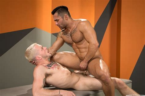 Colton Grey S Huge Cock And Heavy Balls Are Irresistible To Bruno Bernal Naked Men Sex Pics