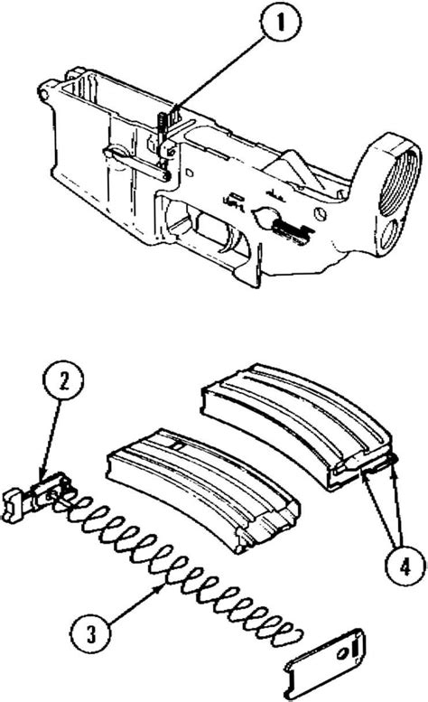 Organizational Maintenance Instructions Rifle