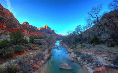 Zion National Park Wallpapers Hd