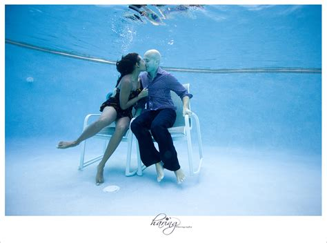 lisa brian underwater engagement photo session ii