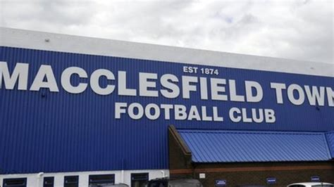 Macclesfield Town FC: In-debt club in takeover talks - BBC ...