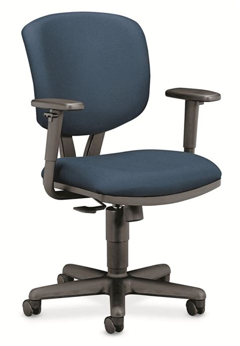 hon 174 volt series task chair with synchro tilt navy