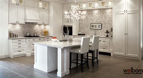 Luxurious White Kitchens