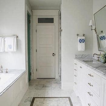 Bathroom Interior  M Long Narrow Master Bathroom Marble