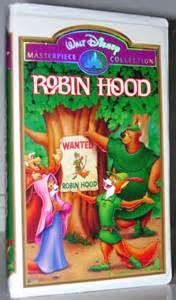 Disney Robin Hood VHS