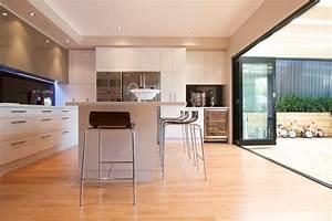 Cuisine Blanche Plan De Travail Bois : plan de travail cuisine blanche maison design ~ Preciouscoupons.com Idées de Décoration