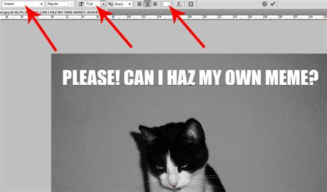 What Font Is Used For Memes - the most commonly used meme font and a tutorial how to create a meme with photoshop diary of