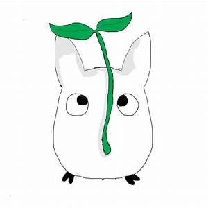 White Totoro by noodlecutie123 on DeviantArt