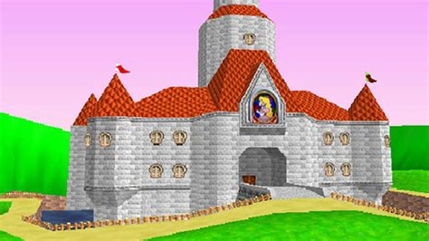 princess peachs mario super mario  castle