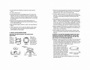 Kidde Smoke Alarm 0916 Manual