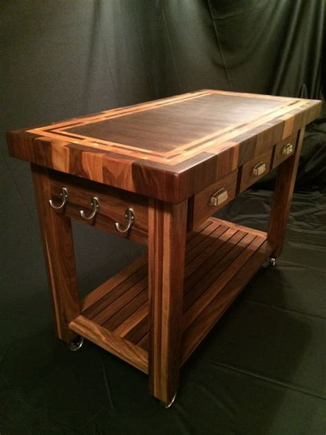 25 best ideas about butcher block kitchen cart on