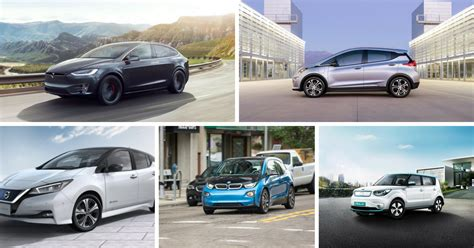 Top Electric Vehicles by Our List Of Top Electric Vehicles Of 2018