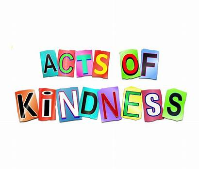 Kindness Social Acts Encourage Concept Form 3d