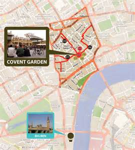 Covent Garden London Map