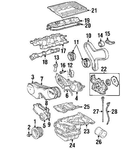 Lexu Rx330 Engine Diagram by 2001 Lexus Rx300 Parts