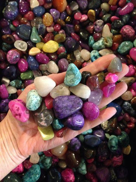 1 2 lb large tumbled stones assorted mix bag reiki