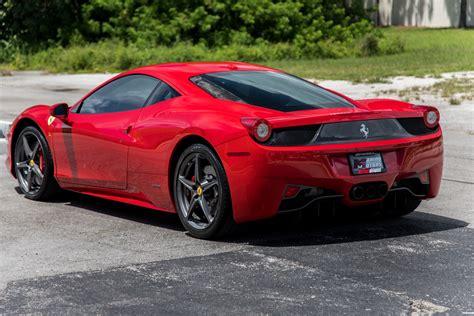 Latest details about ferrari 458 italia's mileage, configurations, images, colors & reviews available at carandbike. Used 2014 Ferrari 458 Italia For Sale ($189,900)   Marino Performance Motors Stock #202622