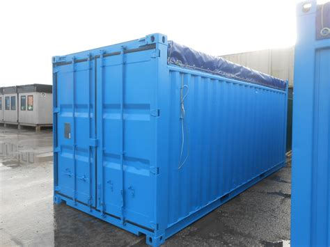 Shipping Containers 20ft Opentop Container Sc82  £2700