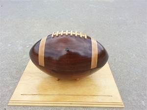 Wooden Football - by Matt1475 @ LumberJocks com