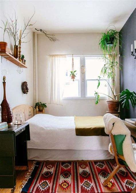 chambre adulte color馥 ide dco chambre adulte styleboho chic plante verte interiuer with tapis pour chambre adulte