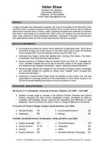 resume profile title ideas creating an effective cv to get that businessprocess