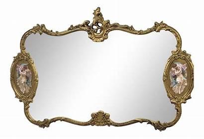 Gold Baroque Antique Mirror Gilded Italian Chairish