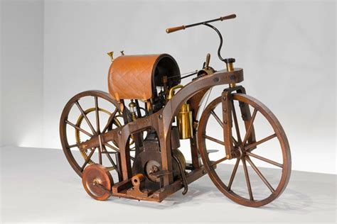 From Bicycles Mounted With Steam