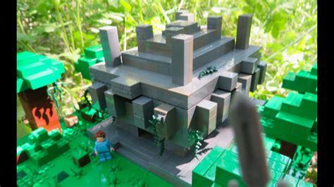 lego minecraft jungle temple youtube
