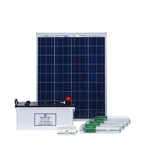 tata solar venus 350 c home lighting system price in