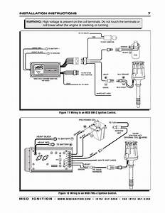 Msd 8560 Chevy V8 Marine Certified Distributor Installation User Manual