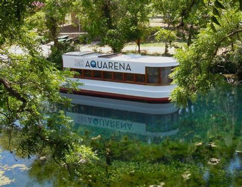 Glass Bottom Boat San Marcos Tx by Glass Bottom Boat View Picture Of Aquarena Center San