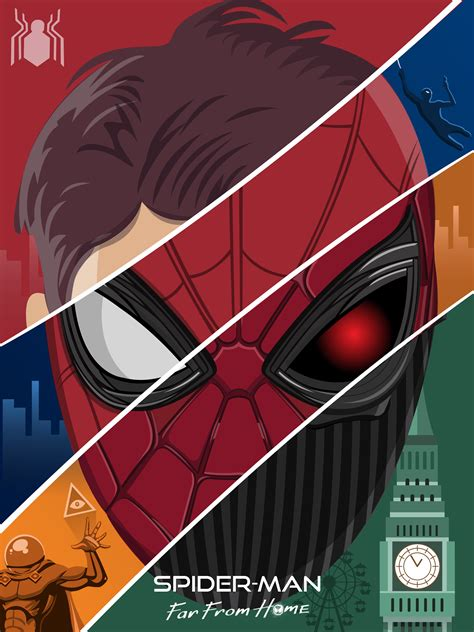 spider man   home fanmade poster   yall