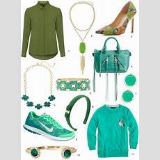 St Patrick's Day Green Accessories & Fashion Ideas