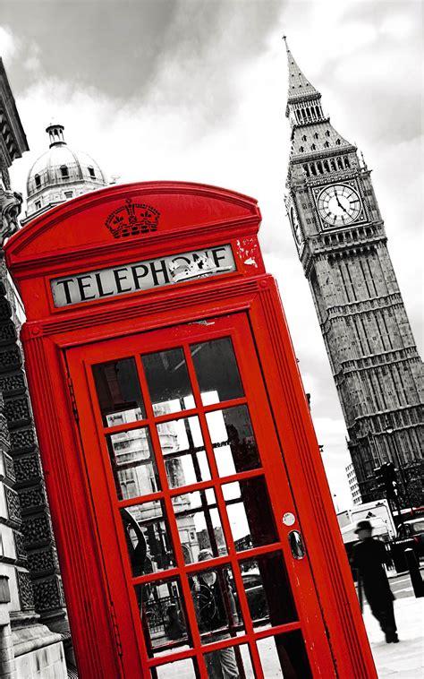 chambre pour ado phone poster cabine téléphonique londres