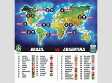 Why Brazil v Argentina is the most popular game in world