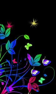 Free Neon Flowers Live Wallpaper APK Download For Android ...