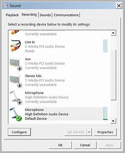 Skype won't detect microphone input | computer enthusiasts