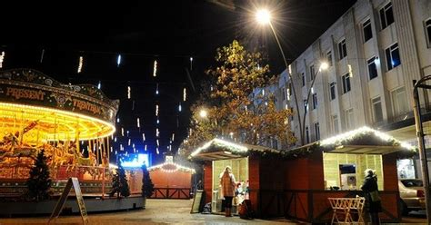 plymouth s christmas market when does it open how long
