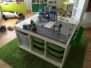 Lego Aufbewahrung Ideen : die 25 besten ideen zu lego tisch auf pinterest lego tisch ikea lego aufbewarung und lego ~ Orissabook.com Haus und Dekorationen
