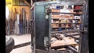 Fabrication Artisanale D U0026 39 1 Remorque De Chasse
