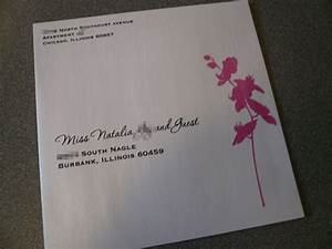 designed wedding invitation envelope starglow studios With 2 envelopes for wedding invitations