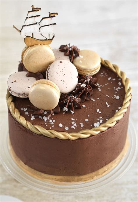 Double Frosted Salted Caramel Mocha Cake Cakes And