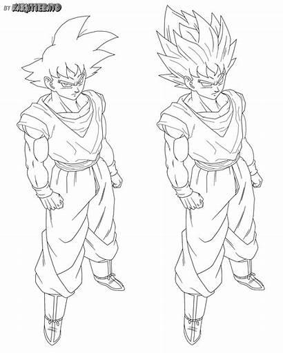 Goku Normal False Drawing Naruttebayo67 Deviantart Dragon