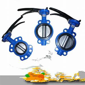 China Wafer Lug U And Flanged Type Butterfly Valve Pn10