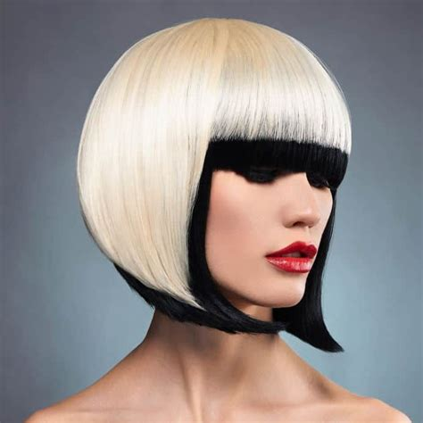 The Different Types of Bobs A line haircut Bobs