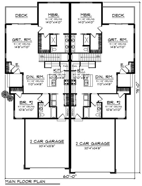 Ranch Style House Plan 4 Beds 4 Baths 2734 Sq/Ft Plan