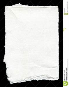 Torn Blank Paper With Copy Space Stock Image - Image: 37643209